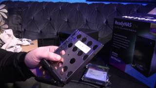 NETGEAR ReadyNAS 214 4-Bay  Unboxing