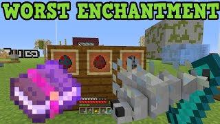 Minecraft Xbox 360 / PS3 - WORST ENCHANTMENT EVER
