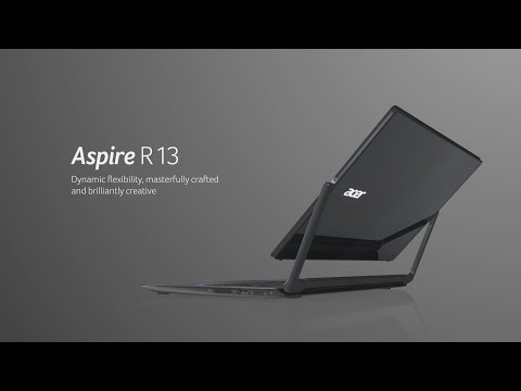 Acer Aspire R 13--Flexible, well-crafted, and very creative (features & highlights)