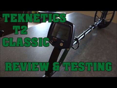 Metal Detecting:  Teknetics T2 Classic - Review and Testing