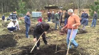 preview picture of video 'Plantación de Árboles en Combarro Poio Pontevedra 28 3 15 12 17 47'