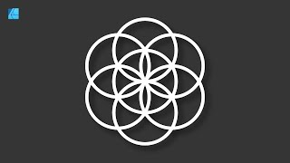 TUTORIAL: MAKE A FLOWER OF LIFE - FULL WORKFLOW WITH AFFINITY DESIGNER
