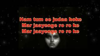 Hum Tumse Juda Hoke original - YouTube