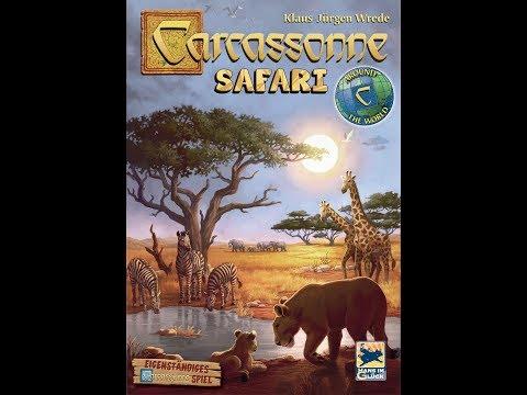 Dad vs Daughter - Carcassonne: Safari