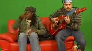 Richie Spice - Brown Skin Acoustic RIDDIM UP ON THE GREEN