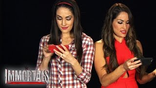 "Video: The Bella Twins play ""WWE Immortals"""