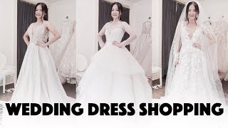 【Alma哟】Bridal Gown Shopping Vlog #1❤️和我一起选婚纱吧-Zuhair Murad/Galia Lahav/Monique Lhuillier Etc.