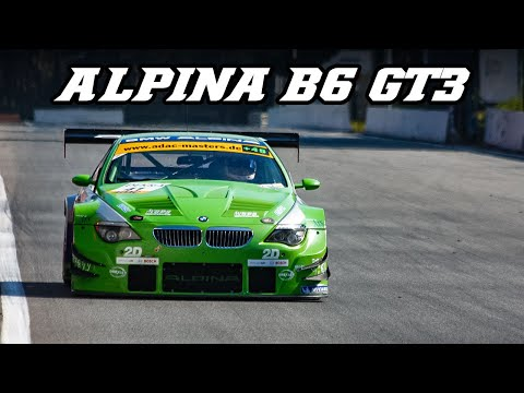2009 ALPINA B6 GT3 - great intake & downshift sounds