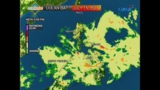 24 Oras: Weather Update As Of 5:50 P.m. (July 14, 2019)