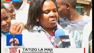 Uhaba wa maji umetatiza  wanabiashara kuwalazimu kufunga biashara