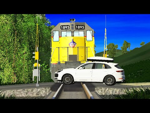 BeamNG Drive - Train Accidents #20