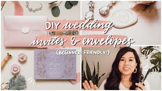 DIY Wedding Envelope Lettering for Beginners | Getting Started, Calligraphy Tools, Addressing Tips