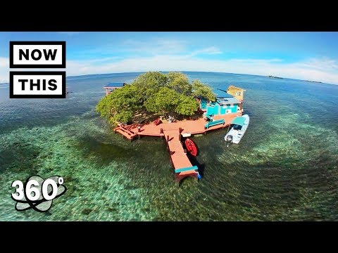Bird Island: Paradise in Belize (360 Tour) | Unframed by Gear 360 | NowThis