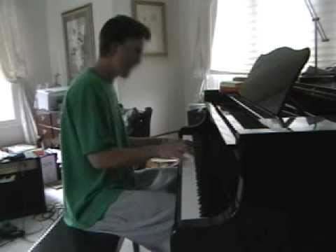 """i believe i can fly"" cover piano"