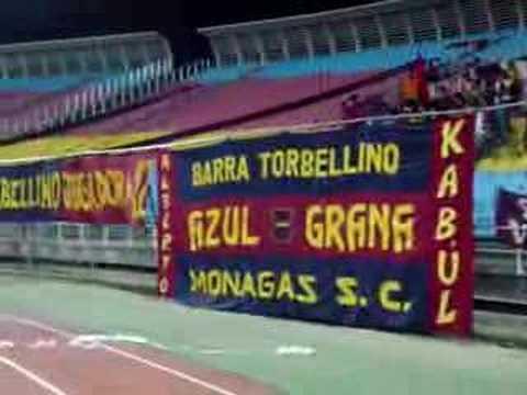 """""""Brujos Chaimas-Torbellino en Puerto La Cruz (1)"""" Barra: Guerreros Chaimas • Club: Monagas"""