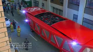 Пожарная машина будущего Fire truck of the future