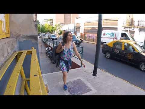 Comportamiento Peatón - Rampa vs Escalera