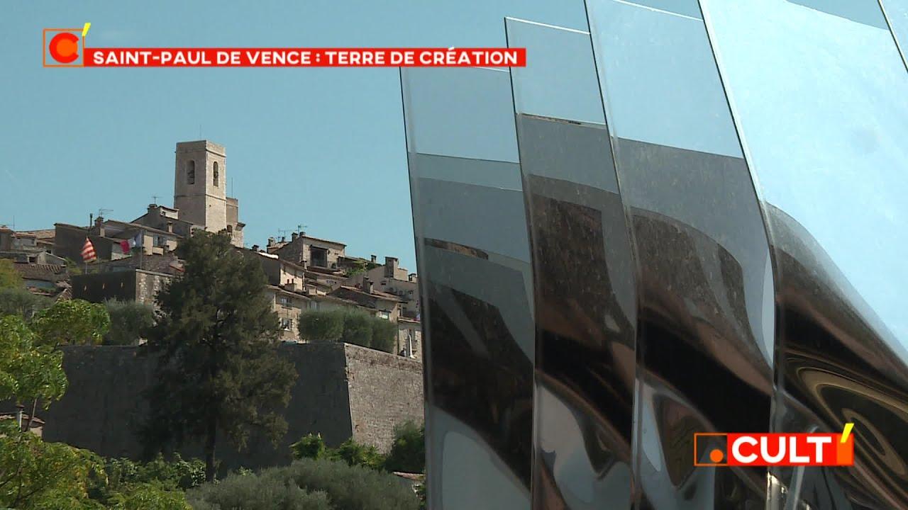 Biennale d'art contemporain : Saint-Paul de Vence, le village dont se nourrissent les créateurs