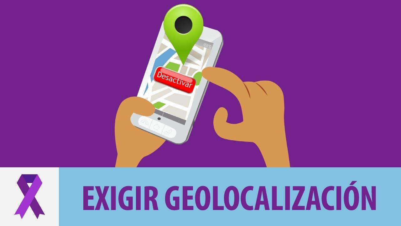 Exigir a tu pareja que demuestre dónde está con su geolocalización...