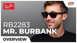 Ray-Ban RB2283 Mr. Burbank 55 Eyesize