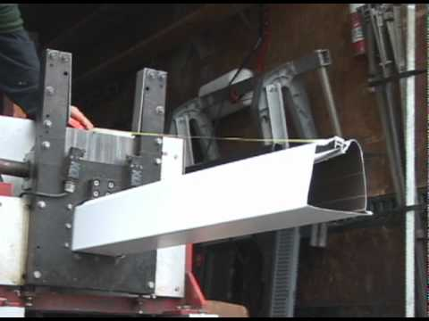 See exactly how LeafGuard Gutters are made