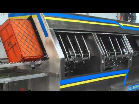 Incline Crate Washer