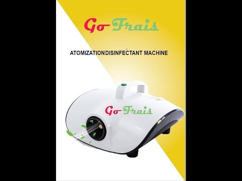 Electric Fog Disinfection Sprayer Machine 900 w With Remote