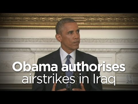 Barack Obama Authorises Airstrikes In Iraq Mp3
