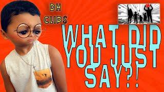 I HAD NO IDEA WHAT I EVEN SAID ! DINGLEHOPPERZ #SHORTS