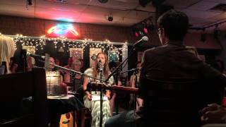 "Cassadee Pope performs ""Feelin' Good"" for the first time at Bluebird Cafe, Nashville."