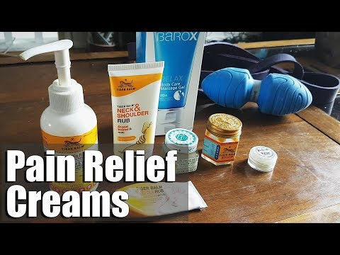 Best Pain Relief Creams for Recovery, Rehab.. Topical Pain Relief