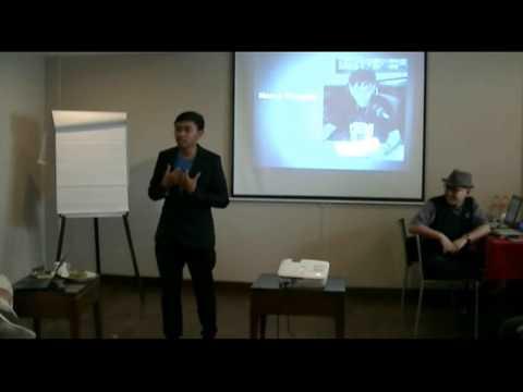 Video Public Speaking / Cara presentasi - Alan Albana