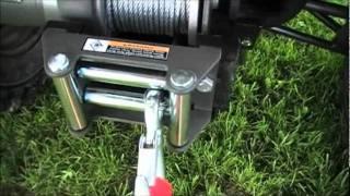 Wiring up a BadLand Winch on a ATV 4 Wheeler