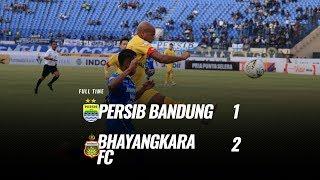 [Pekan 6] Cuplikan Pertandingan Persib Bandung vs Bhayangkara FC, 30 Juni 2019