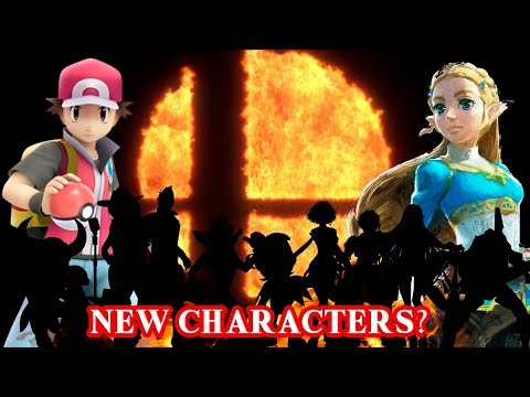 Super Smash Bros Switch - Top 10 Newcomer Characters!