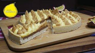 Тарт курд маракуйя и взбитый ганаш из карамелизированного шоколада