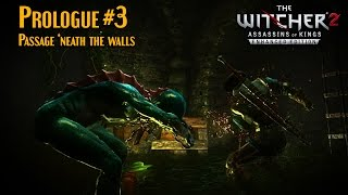 Witcher 2 Hard moded ultra HQ sweet fx Prologue part3 Passage neath the walls