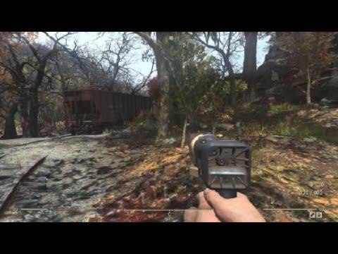 Fallout 76 РАЗНОЕ добыть уголь в шахте гоули