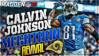 GOFF + GURLEY + MEGATRON = SUPER BOWL? | CALVIN JOHNSON MADDEN 18 CAREER MODE REVIVAL