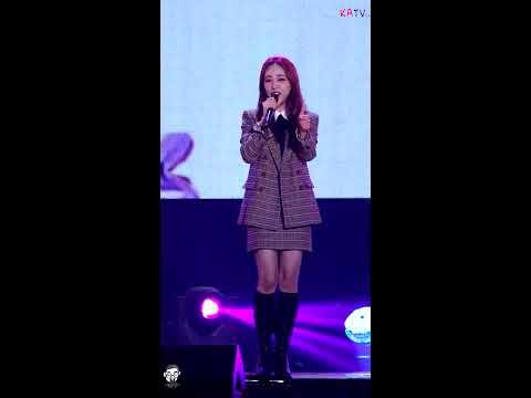 """201018 / 백아연 직캠 """" 쏘쏘 """" 춘천 KBS 라디오 [4K]"""
