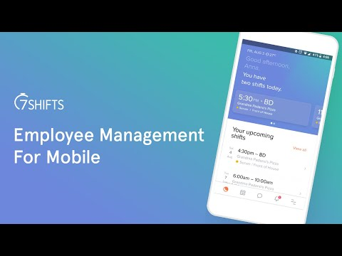 Manage Employees youtube video thumbnail