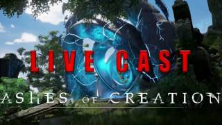 Ashes of Creation Kickstarter Livestream w/ Deltias Gaming 5/3/17