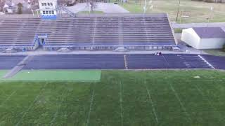DJI Phantom Drone Footage Distance: 50 Meters Dash Time: 6.69 Seconds 100 Meters Dash View From Rear