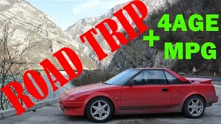 D4A Toyota MR2 road trip  to Mostar + 4age MPG