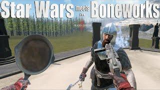 STAR WARS meets BONEWORKS in Blade and Sorcery VR 4K Beta Mods
