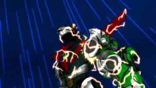 Forming Voltron and Blazing Sword