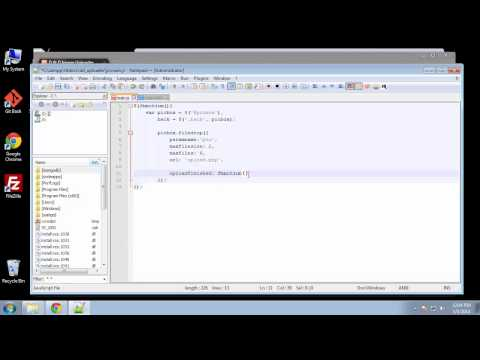 Projects in HTML5 – Chapter 34 – JQuery Filedrop Plugin Part 1