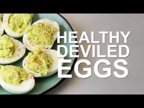 Video Healthy Avocado Deviled Eggs | Get Healthy U Recipes