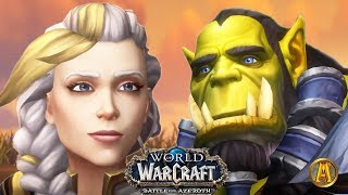 Thrall Meets Jaina [All Cinematics] - 8.2 WoW BFA: Rise of Azshara