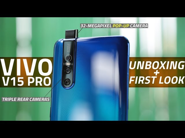 Vivo V15 Pro With Pop-Up Selfie Camera Launched in India